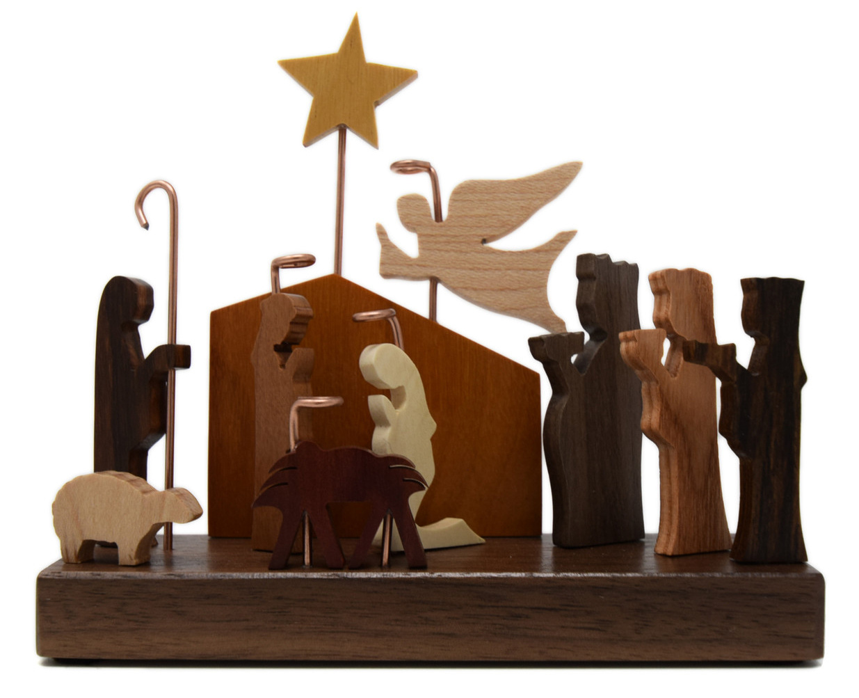 11 FIGURES MINI NATIVITY-1