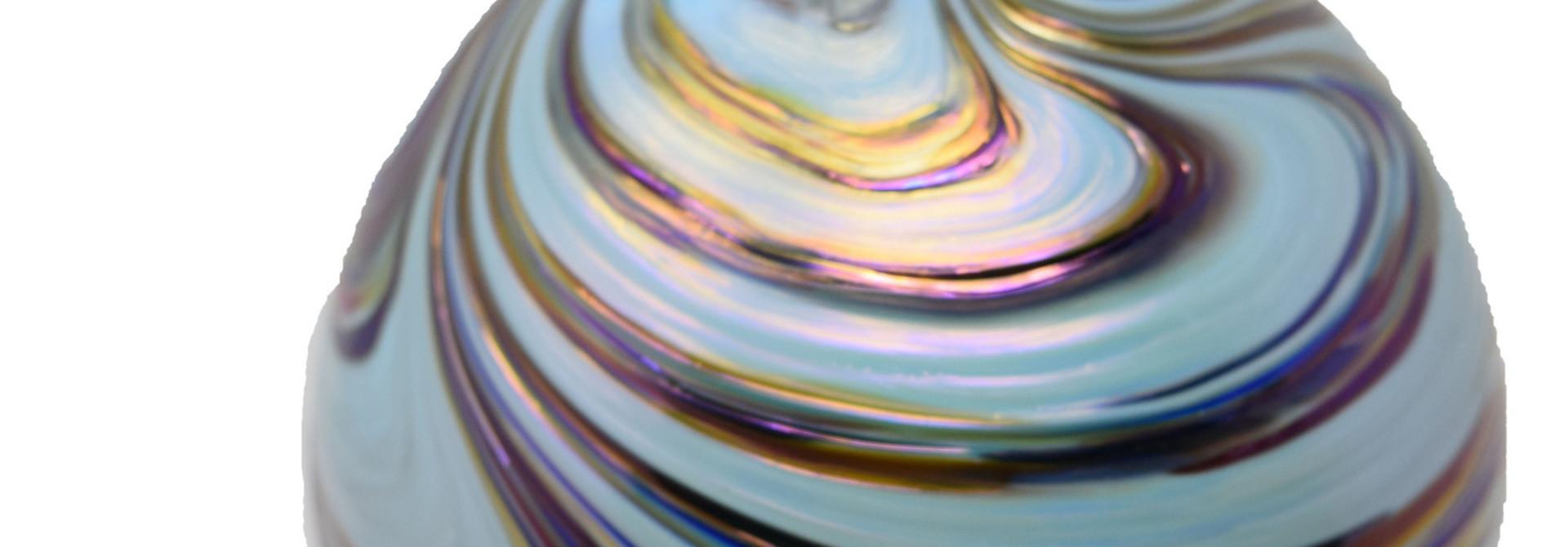 Gentle Swirl Ornament