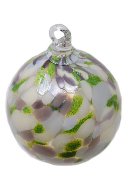 Winter Solstice Round Ornament