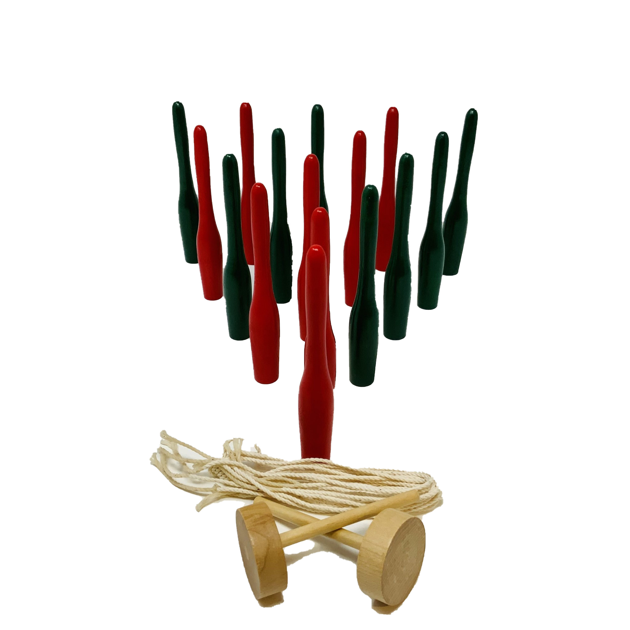 Replacement Skittles Set Holiday/Red & Green-1