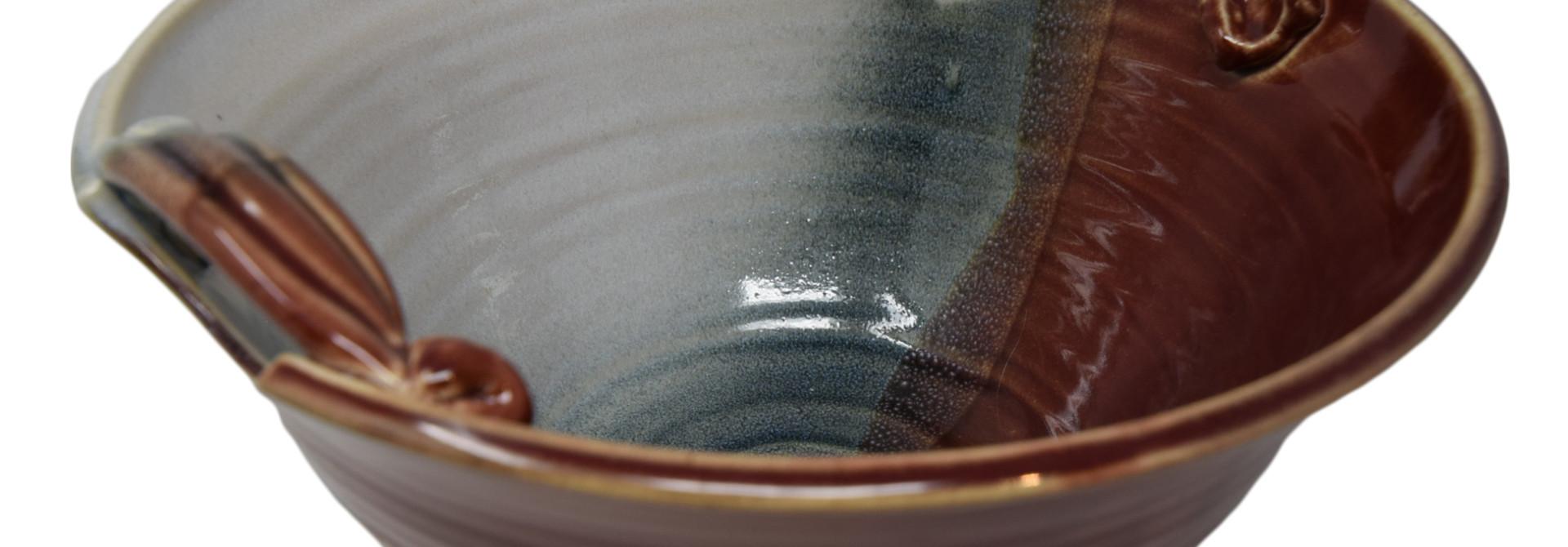 Medium Deep Bowl w/Handles