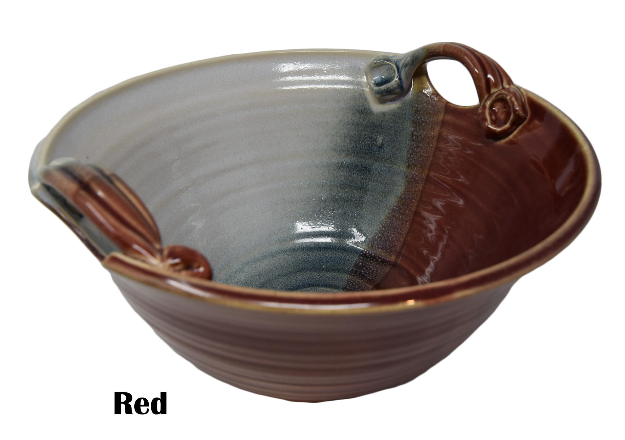 Medium Deep Bowl w/Handles-1