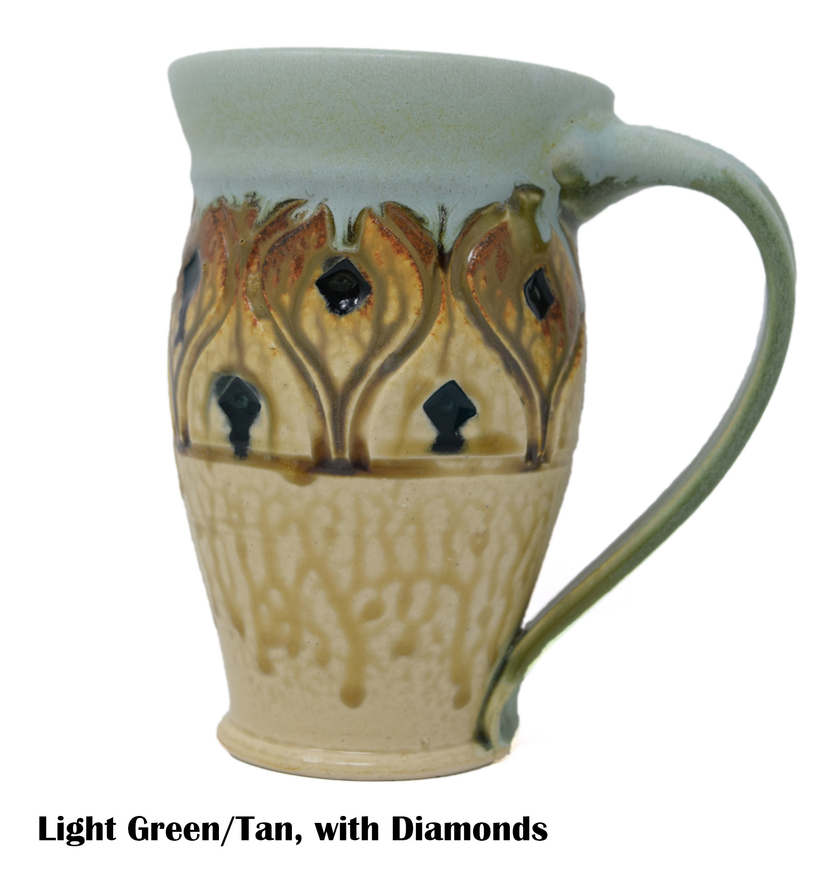 Large Carved Mug-4