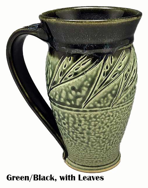 Large Carved Mug-5