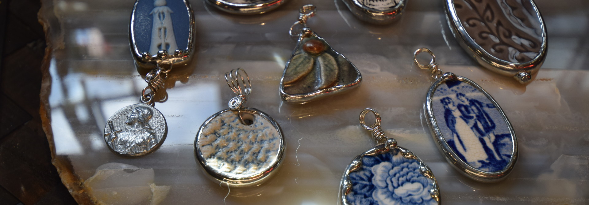 Pins and Pendants