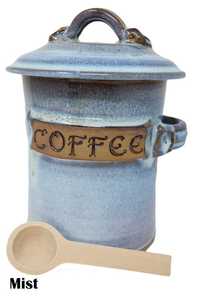 Coffee Canister with Scoop