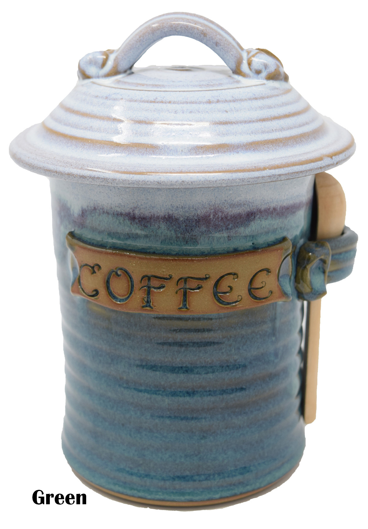 Coffee Canister with Scoop-1