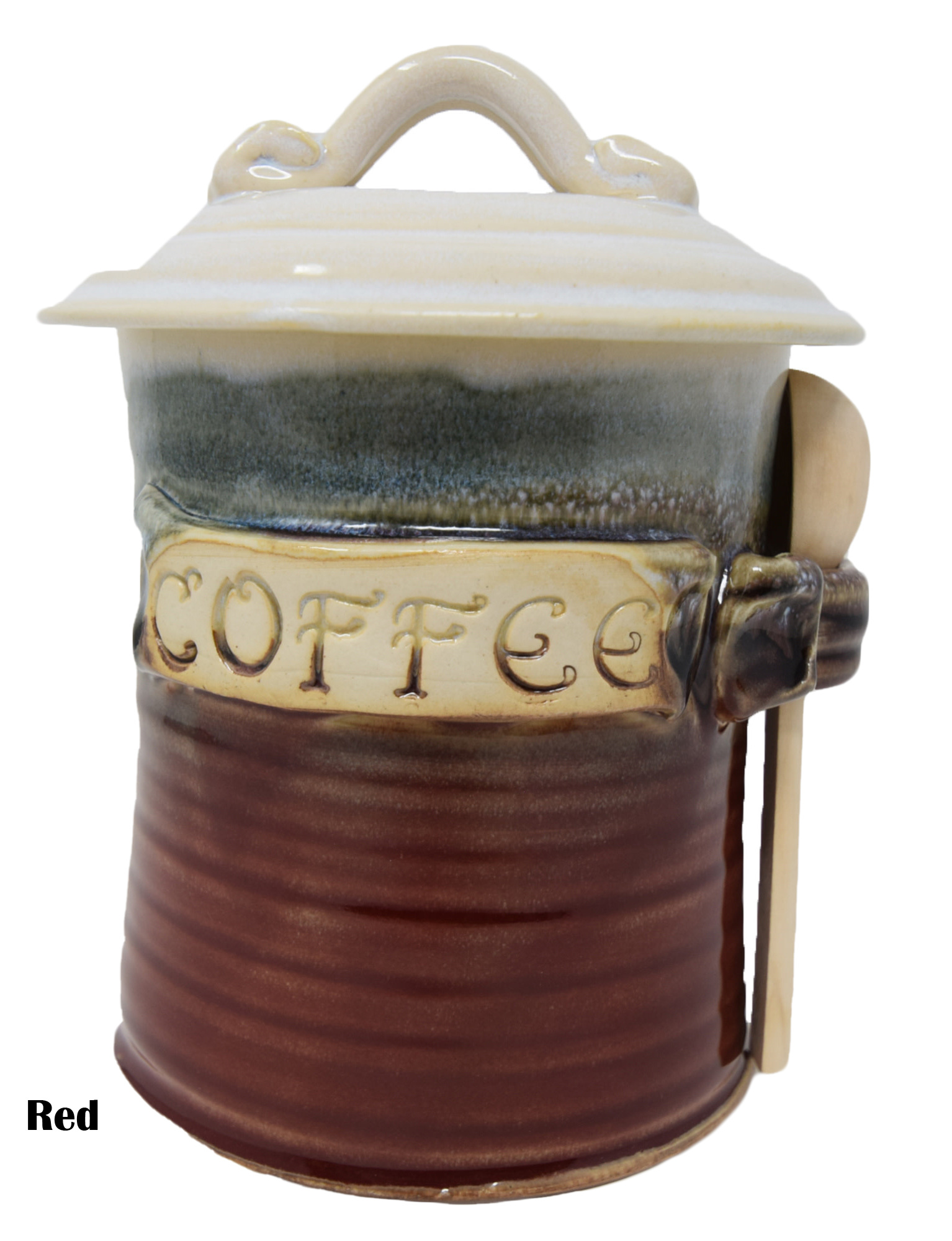 Coffee Canister with Scoop-5