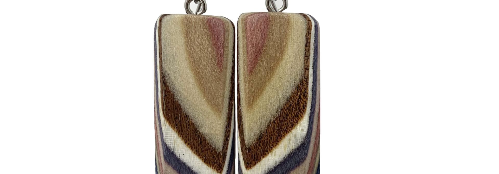 Large Rectangle Earrings