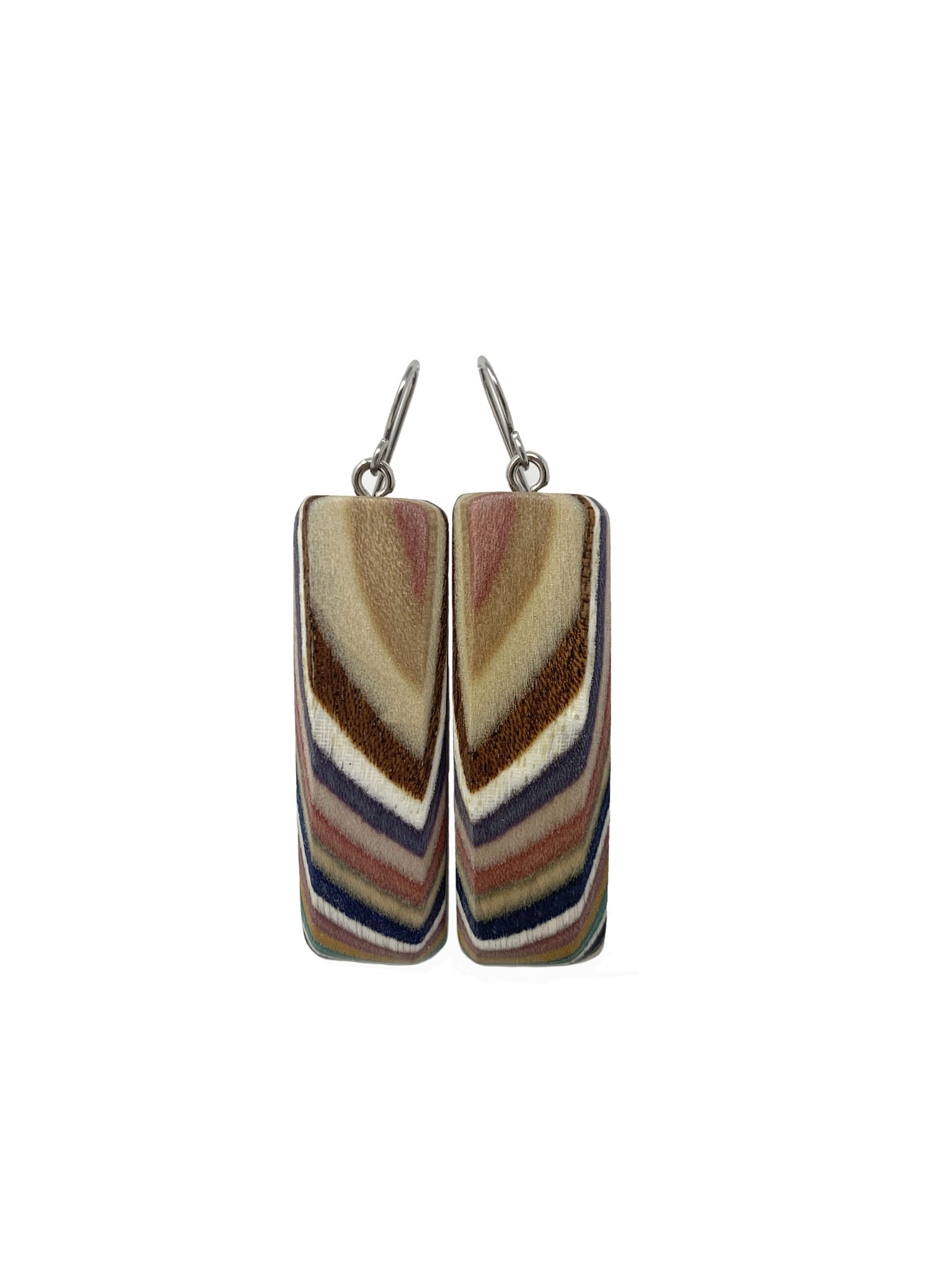 Large Rectangle Earrings-1