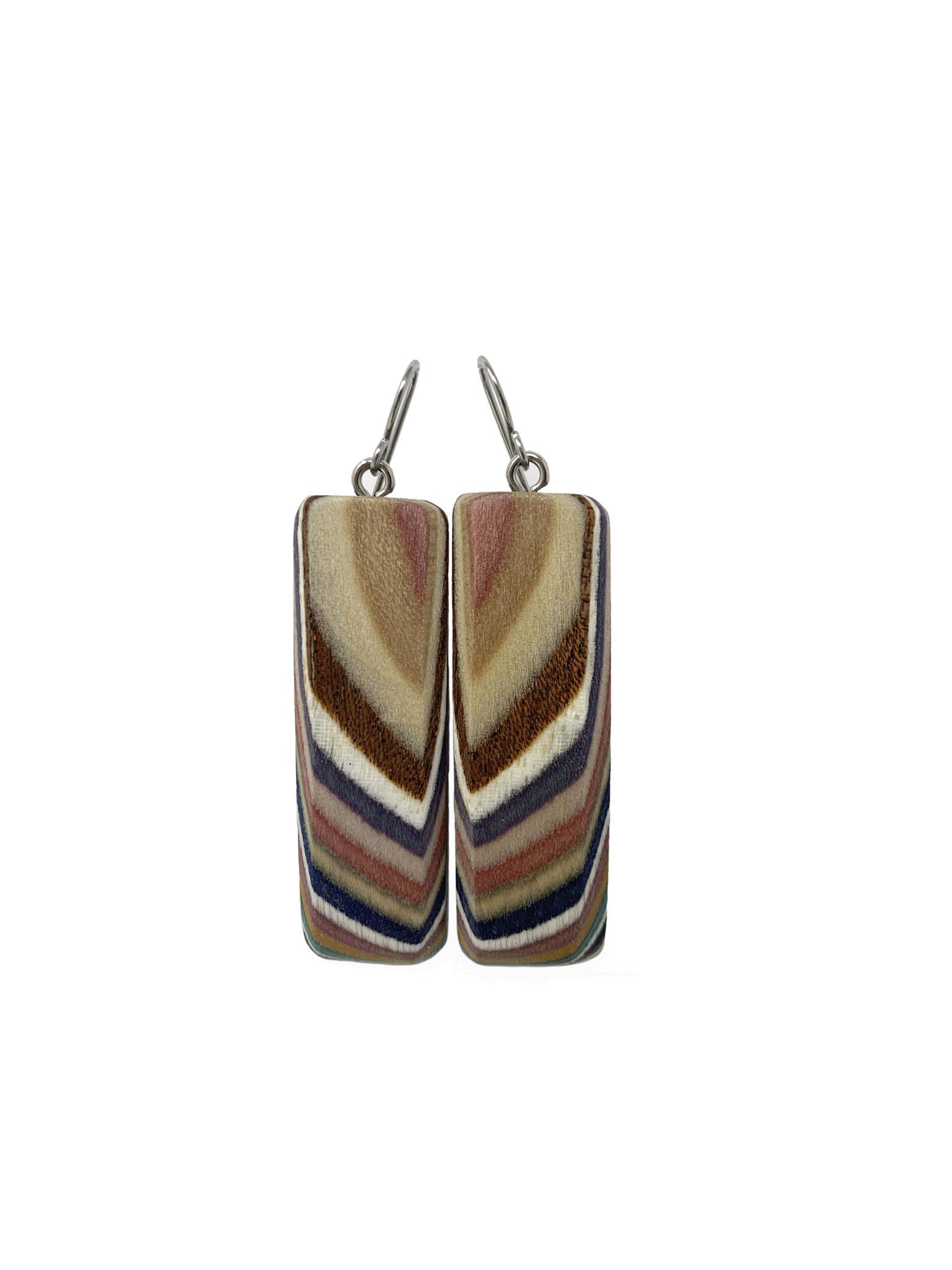 Large Rectangle Earrings-1