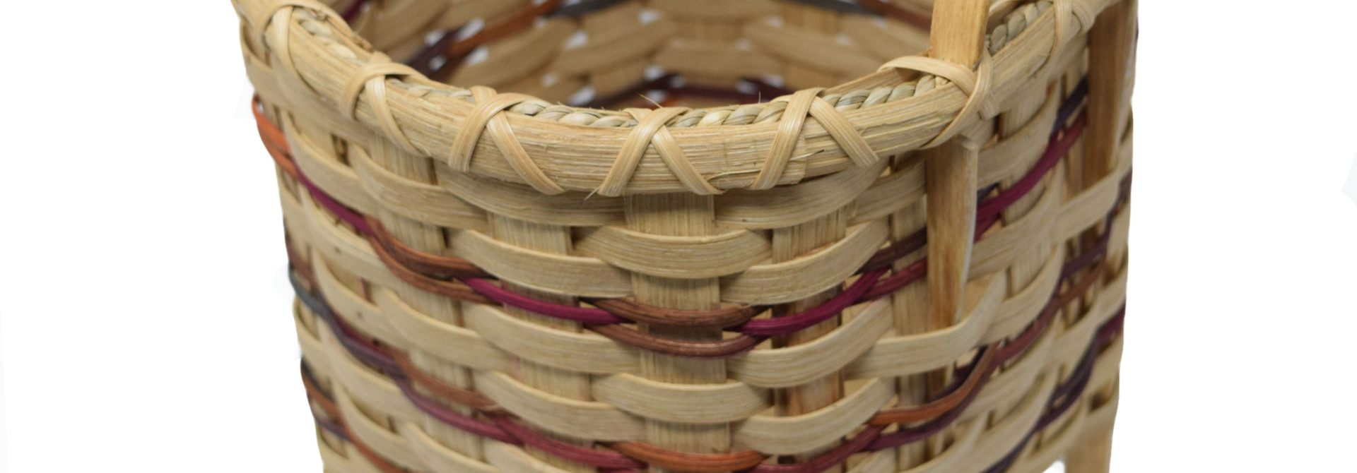 Footed Square Basket