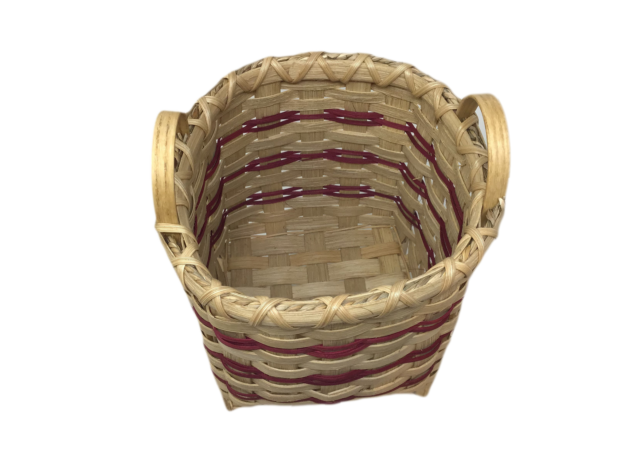 Footed Square Basket-3
