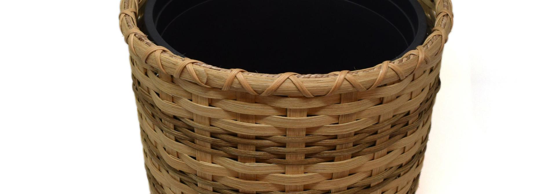 Lined Trash Basket