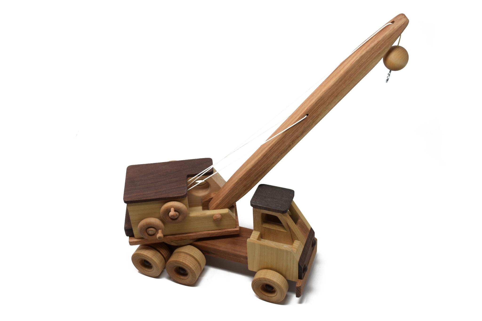 Wooden Toy Crane-1