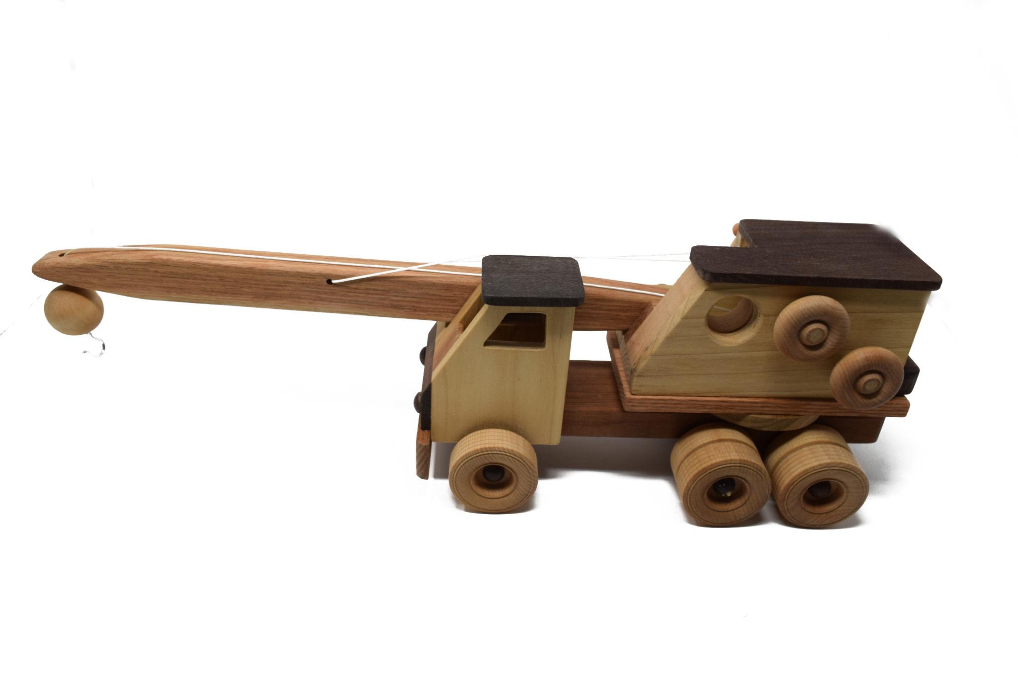 Wooden Toy Crane-2
