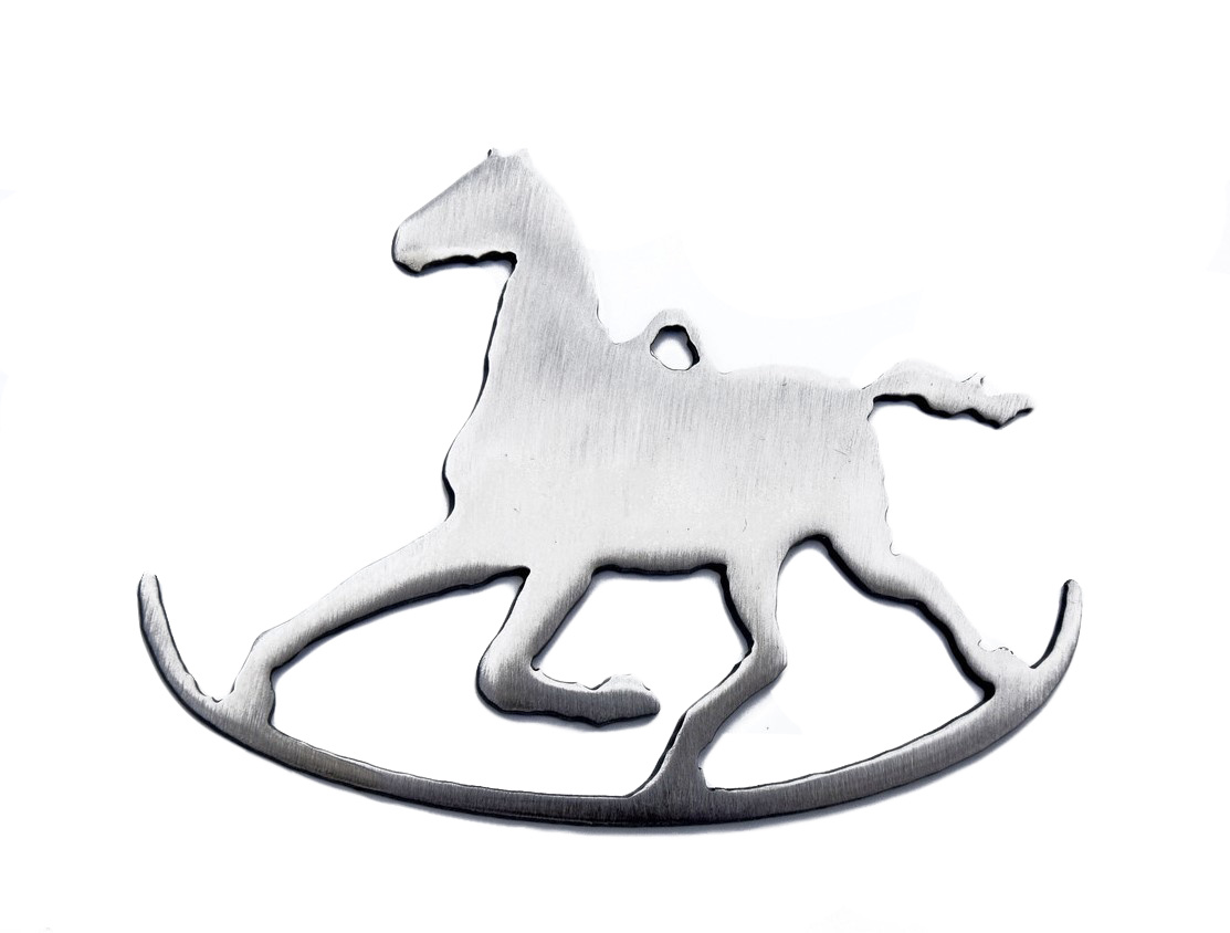Rocking Horse Ornament-1
