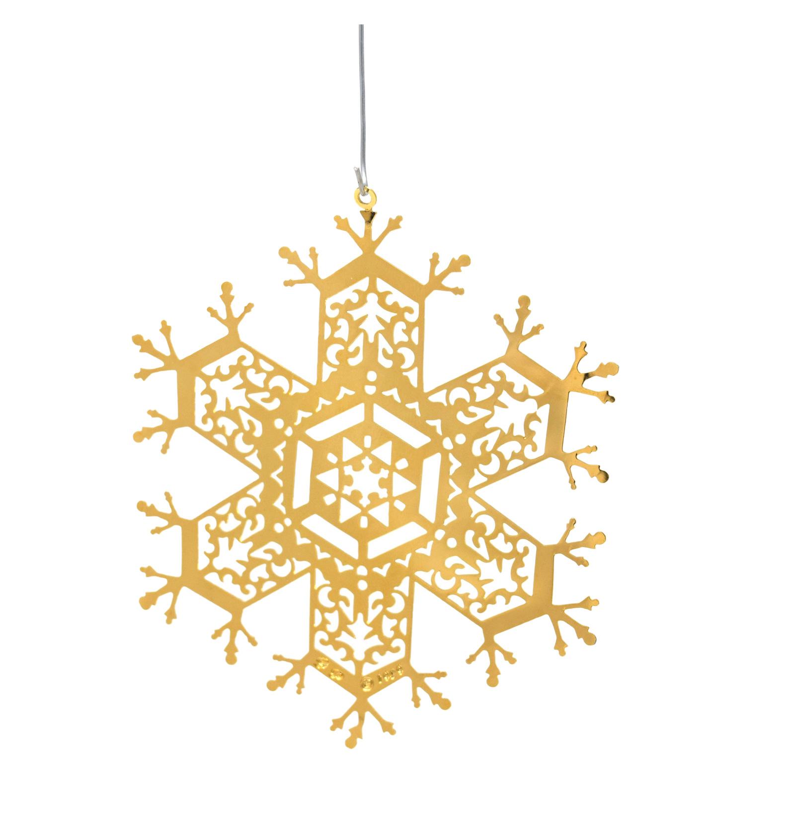 Snowflake Pierced-1