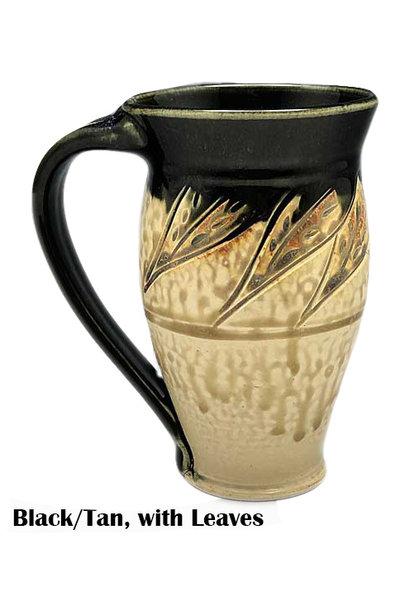 Large Carved Mug