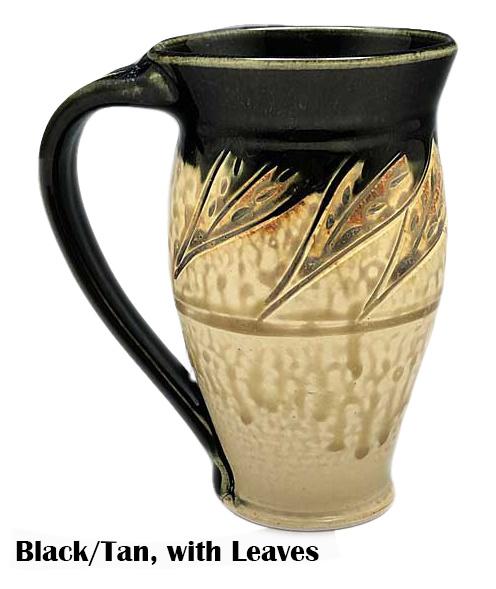 Large Carved Mug-1