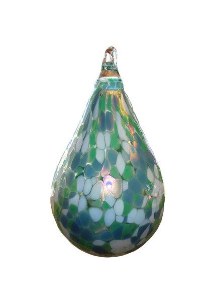 Mountain Stream Teardrop Ornament