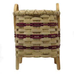 Footed Square Basket-4