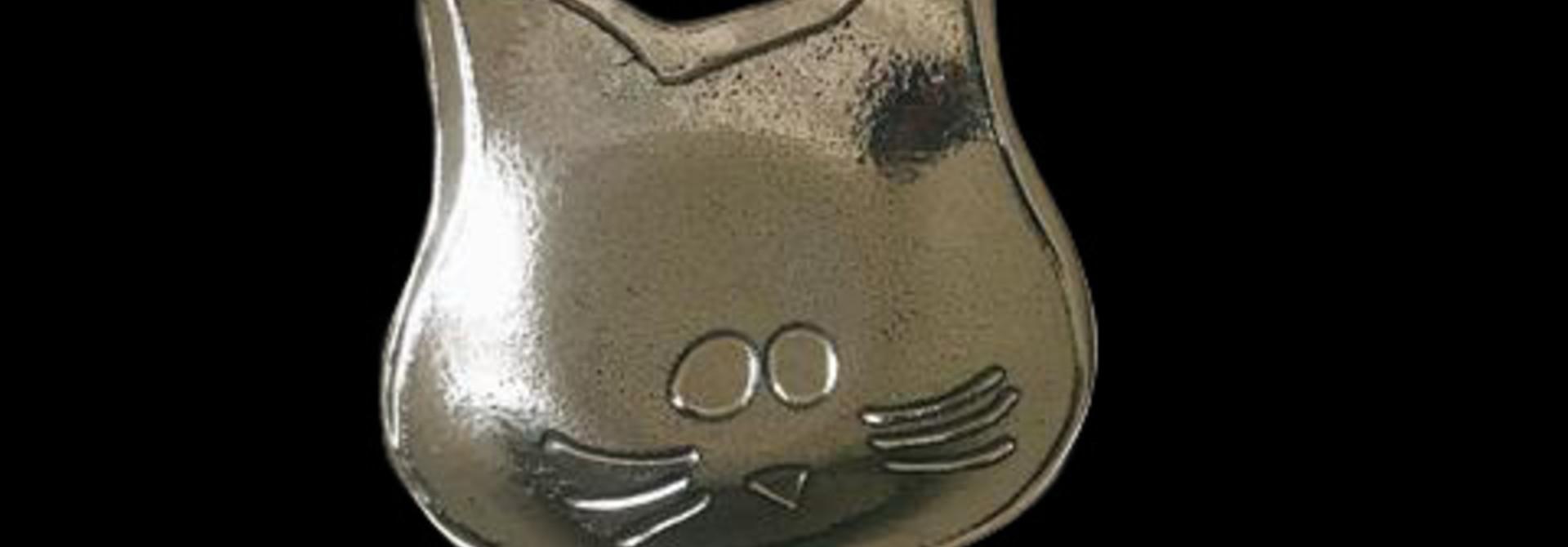 Lucky Cat Teabag Holder