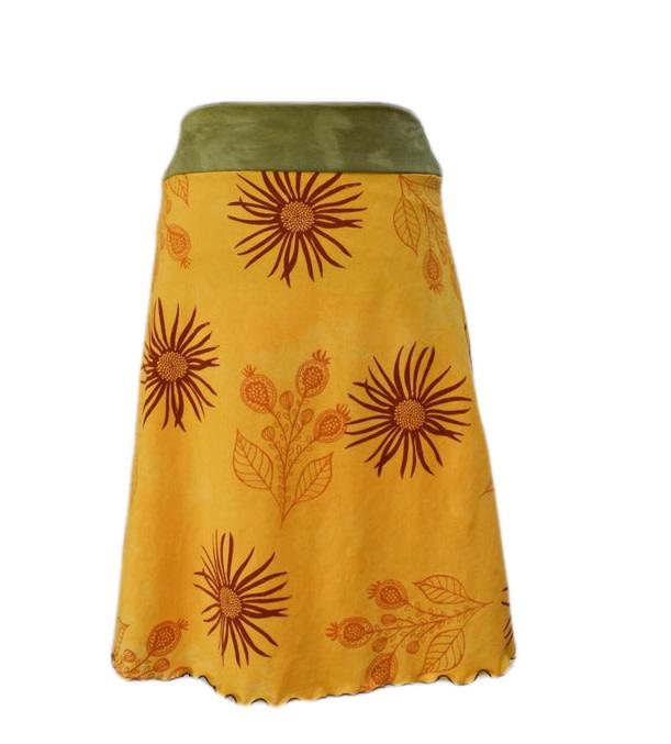 Cotton Knit Skirt-1