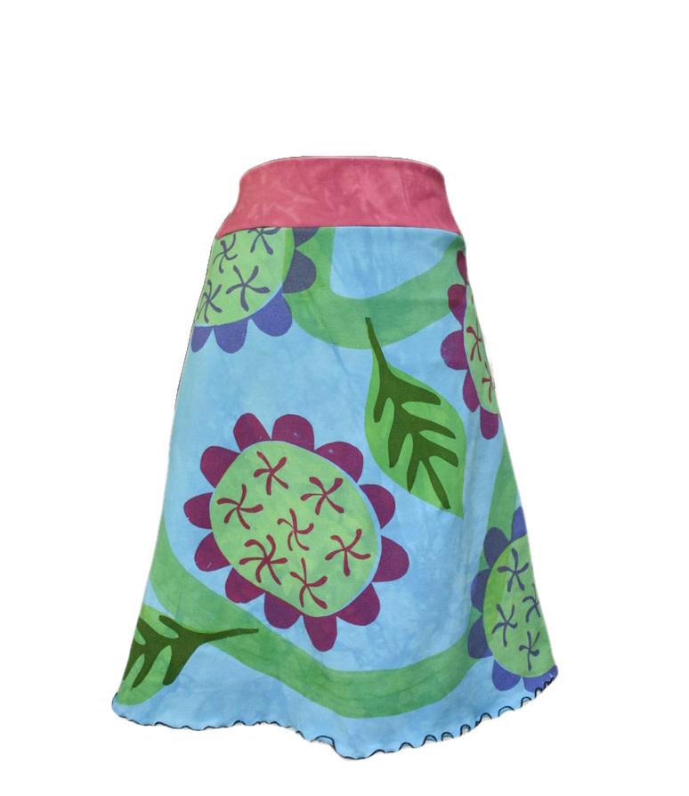Cotton Knit Skirt-6