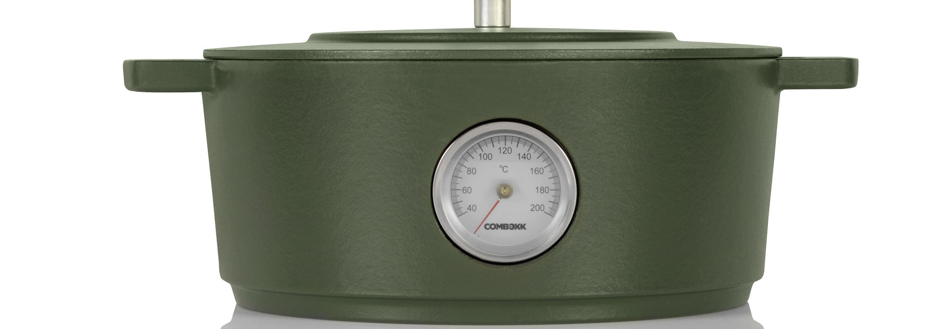 Dutch Oven w/ Thermometer