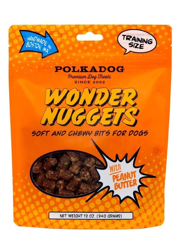 Polka Dog Bakery Polka Dog Bakery Wonder Nuggets Peanut 12oz