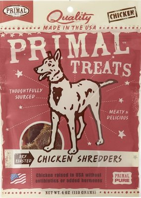 Primal Primal Treat Chicken Shredders 4oz