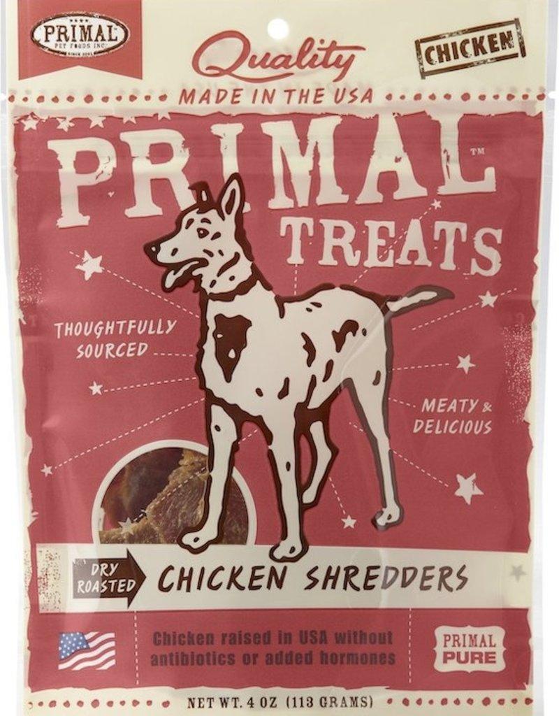 Primal Primal Treat Chicken Shredders 4oz