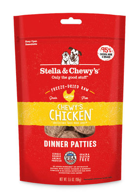 Stella & Chewys Stella & Chewy's Freeze Dried Patties