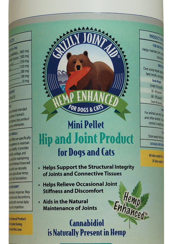 Grizzly Grizzly CBD Hip & Joint Pellet 10oz.
