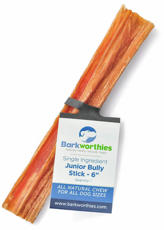 Barkworthies Barkworthies Bully Stick Junior 6""