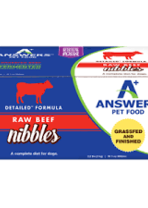 Answers Answers FZN Nibbles