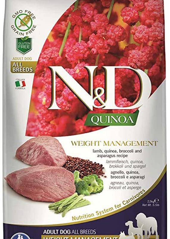 Farmina Farmina GF Weight Mgmt Lamb Quinoa 5.5#