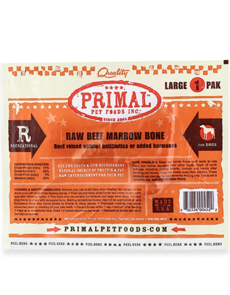 Primal Primal FZN Beef Marrow Bone Single