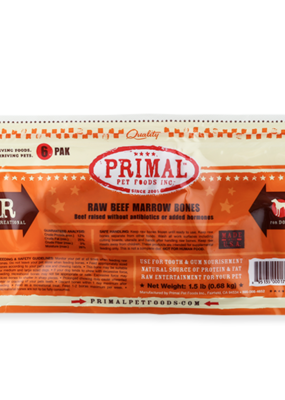 "Primal Primal FZN Beef Marrow 2"" 6pack"