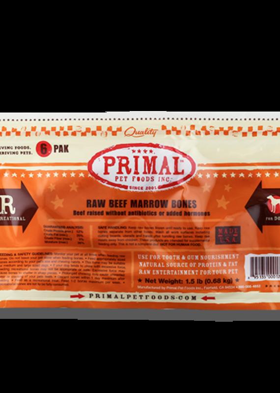 """Primal Primal FZN Beef Marrow 2"""" 6pack"""