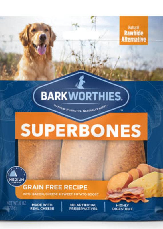 Barkworthies SuperBone Bacon Cheese