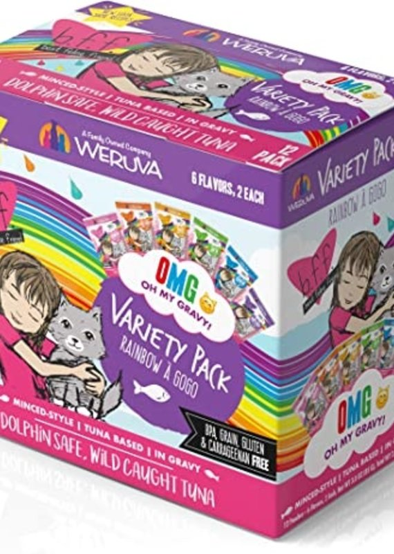 Weruva Weruva C BFF Variety Pack 3oz BOX