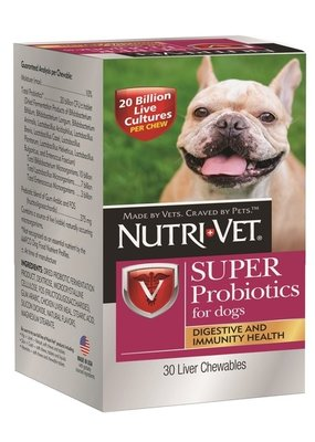 Nutrivet NutriVet Super Probiotic 30ct