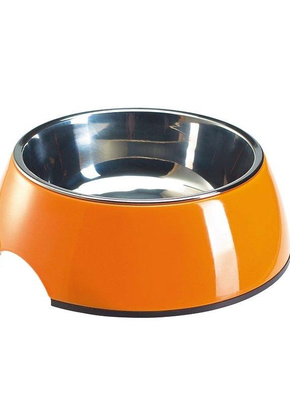 Hunter Melamine/Stainless Bowl