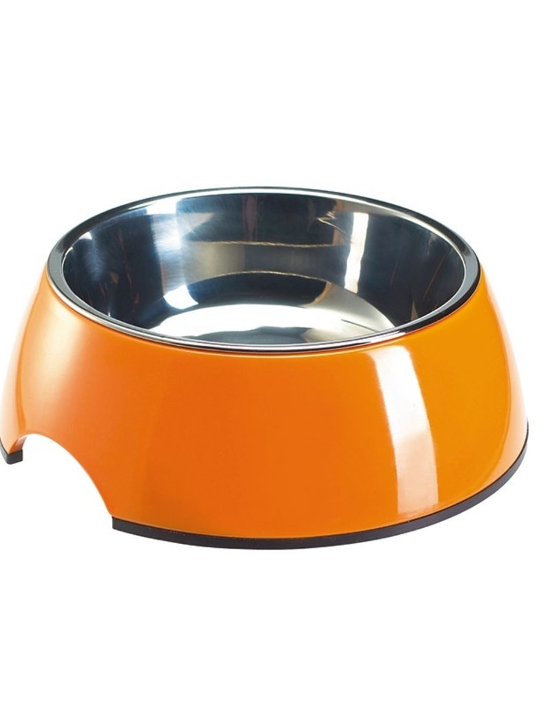 Hunter Melamine/Stainless Bowl