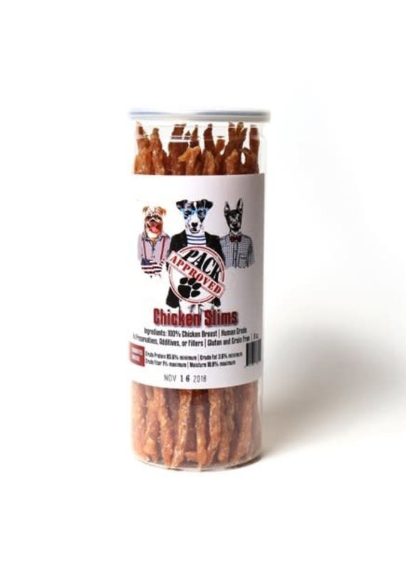 Planet Wise Pack Approved Chicken Slims