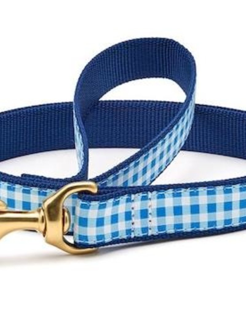 Up Country Up Country Leash Blue Gingham