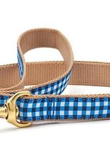 Up Country Up Country Leash Navy Blue Gingham
