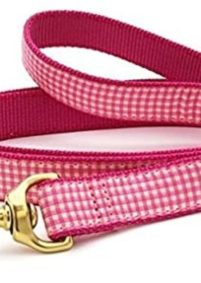 Up Country Up Country Leash Pink Gingham